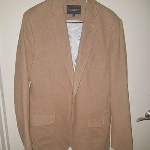Banana Republic mens 2button fottef blazer 42r